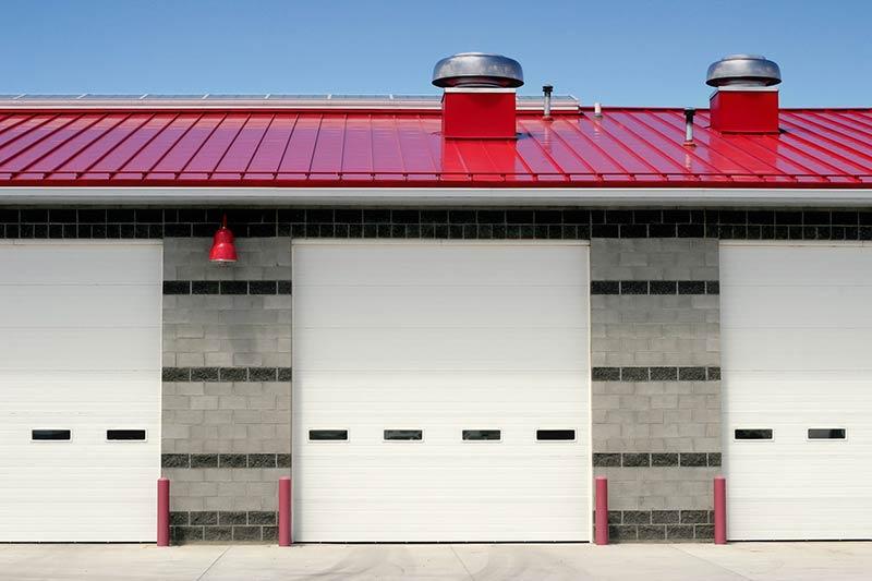 New Fire Shutter Installation