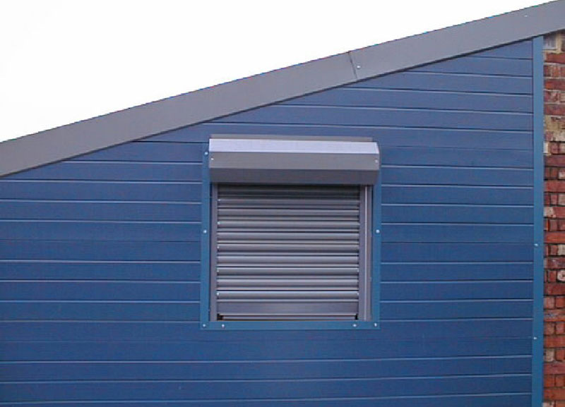 small roller shutter window