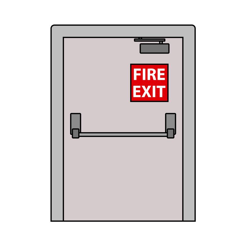 fire door exit
